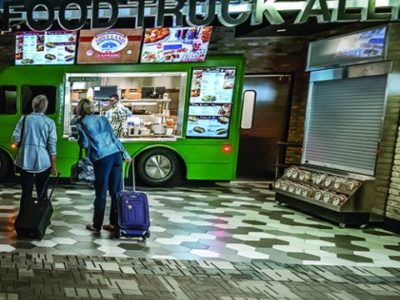 Minneapolis-St. Paul Int'l Adds Food Truck Alley | Airport Improvement Magazine