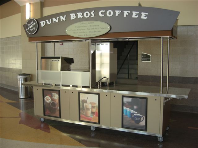 Dunn Brothers Coffee Cart Front