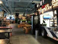 Indoor Food Truck Halls