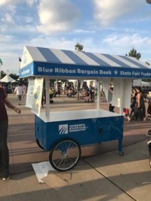 MInnesota State Fair Promotional Cart