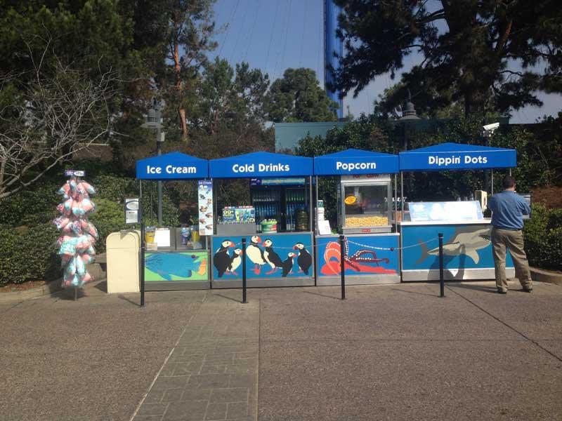 Miami Sea Aquarium Carts Chameleon Concessions