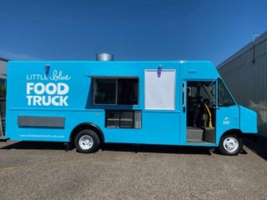 The Little Blue Food Truck